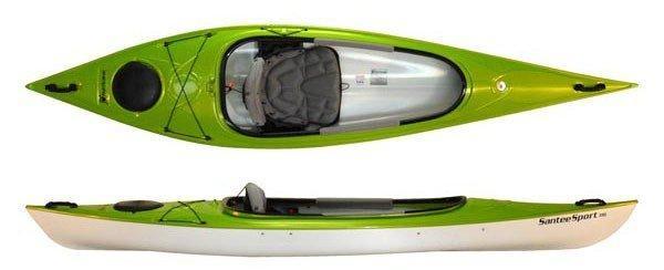 Hurricane-kayaks-santee-116-sport green